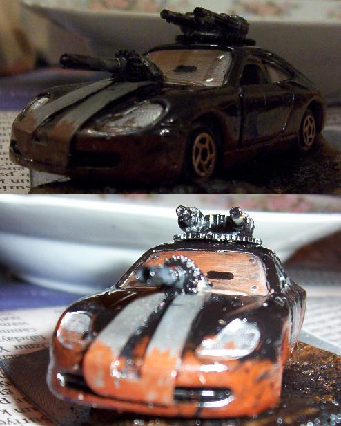Car Wars - Porsche