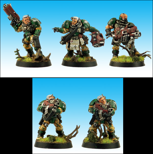 Dark Angels Space Marine Scouts