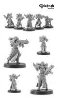 CoolMiniOrNot - War Maidens by Grishnak Models