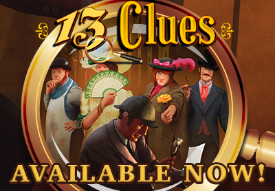 13 Clues Available Now
