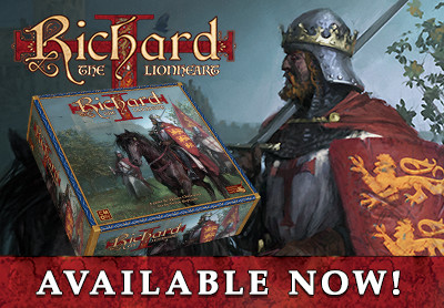 Richard the Lionhaert Available Now